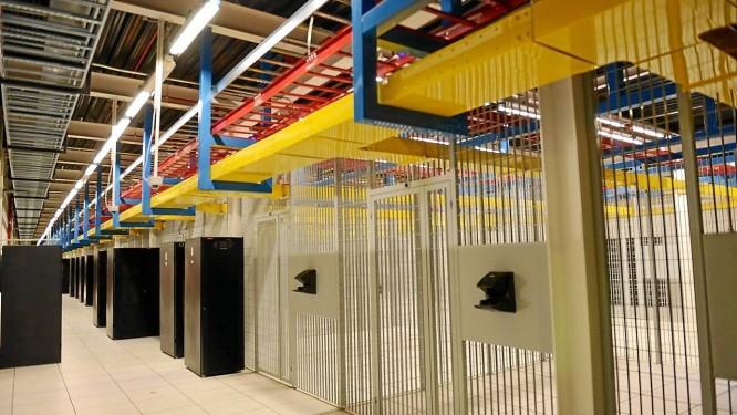 Instalação tem 15 mil metros quadrados de área Foto: Divulgação