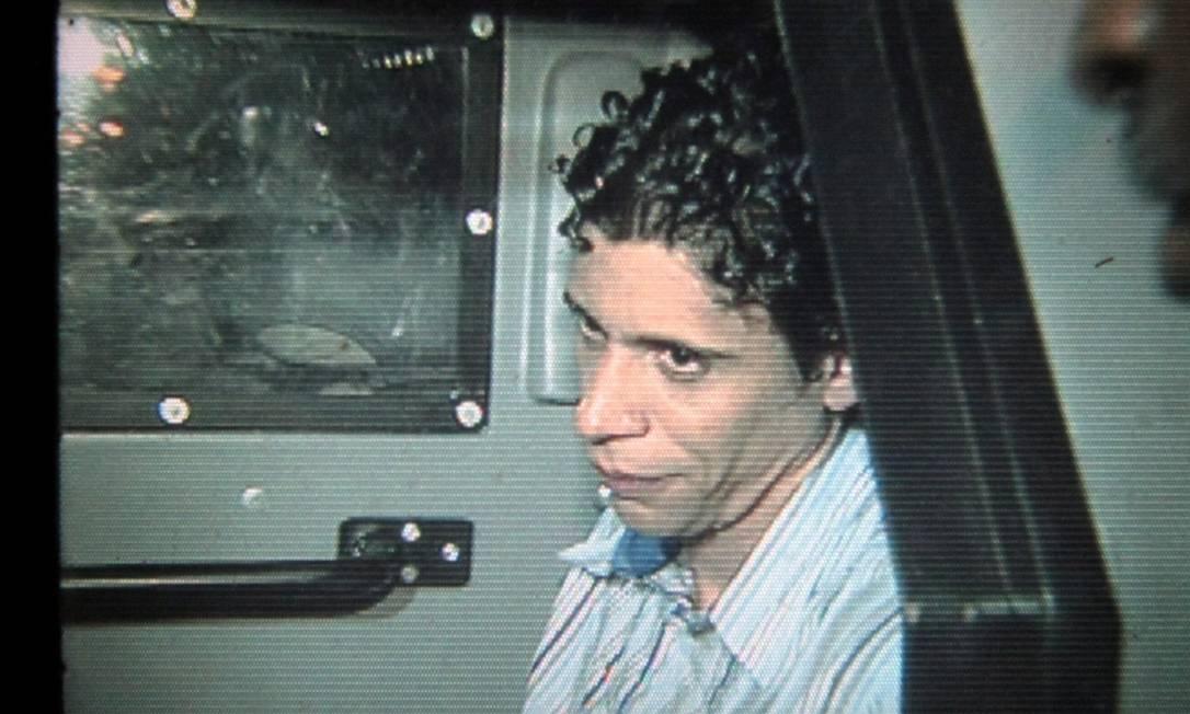 O traficante Antônio Bonfim Lopes, o Nem, chefe do tráfico de drogas da Favela da Rocinha, foi preso em 2011 Foto: Bruno Gonzalez / Agência O Globo
