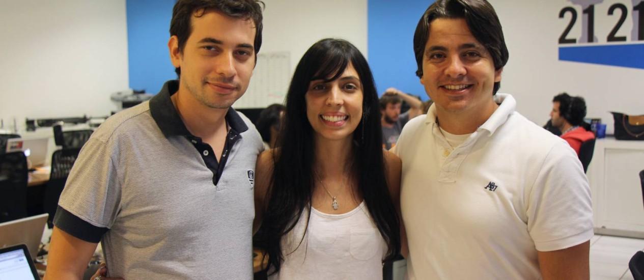 A eStoks foi uma das startups selecionadas no ano passado. Os sócios dizem que modelo de negócios mais evoluído, equipe experiente e projeto bem escrito foram fundamentais para a seleção no Start-Up Brasil. Foto: Divulgação