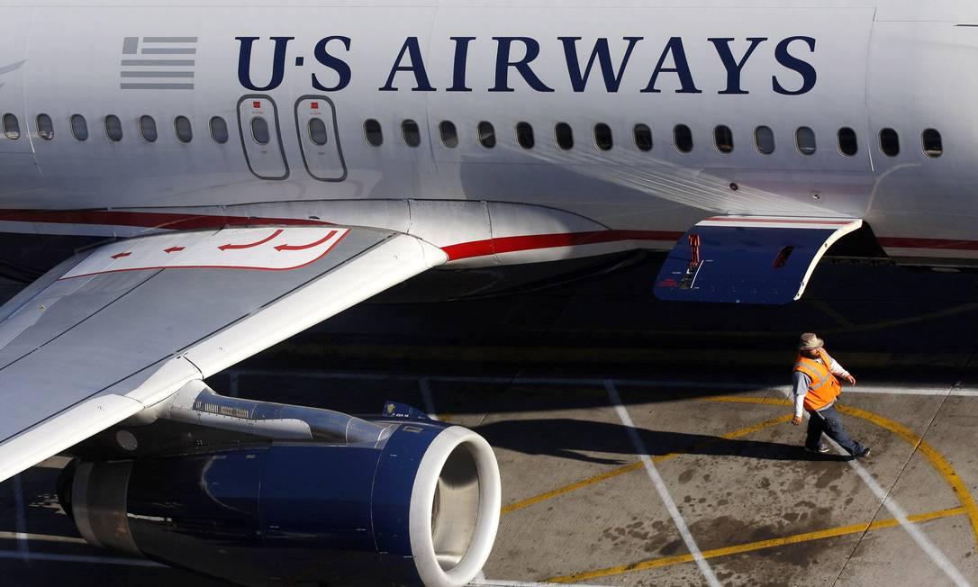 US Airways: companhia terá de indenizar mãe e filho Foto: Joshua Lott/Reuters