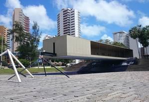 O Mausoléu Castello Branco, único presidente cearense, fica em Fortaleza Foto: Juliana Castro