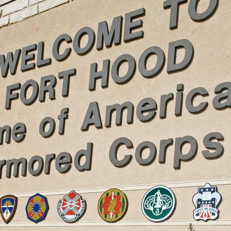 Portão de entrada de Fort Hood: novo incidente Foto: PAUL J. RICHARDS / AFP
