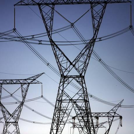 Linhas de transmissão de energia elétrica Foto: Dado Galdieri