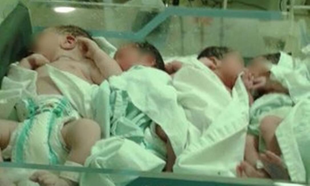 Saudáveis e doentes. Crianças juntas na Maternidade Dona Evangelina Rosa Foto: Divulgação