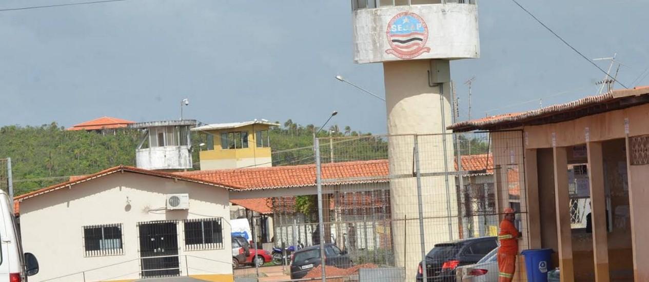 O presídio São Luís 2, no Complexo de Pedrinhas, onde houve a fuga desta quinta-feira Foto: Gilson Ferreira/Jornal Pequeno