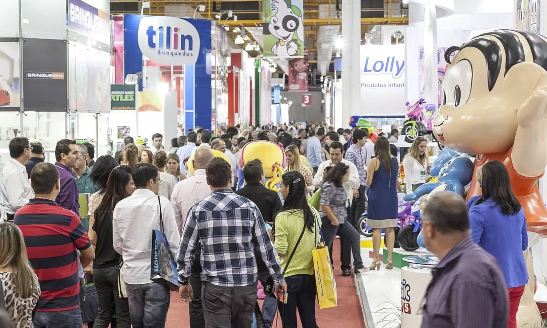 Feira Brasileira de Brinquedos: setor espera crescer acima de 10% em 2014 Foto: Divulgação/COMODO/AG RIGUARDARE