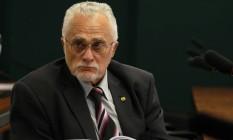 José Genoino, um dos condenados no processo do mensalão Foto: Ailton de Freitas / Arquivo O Globo