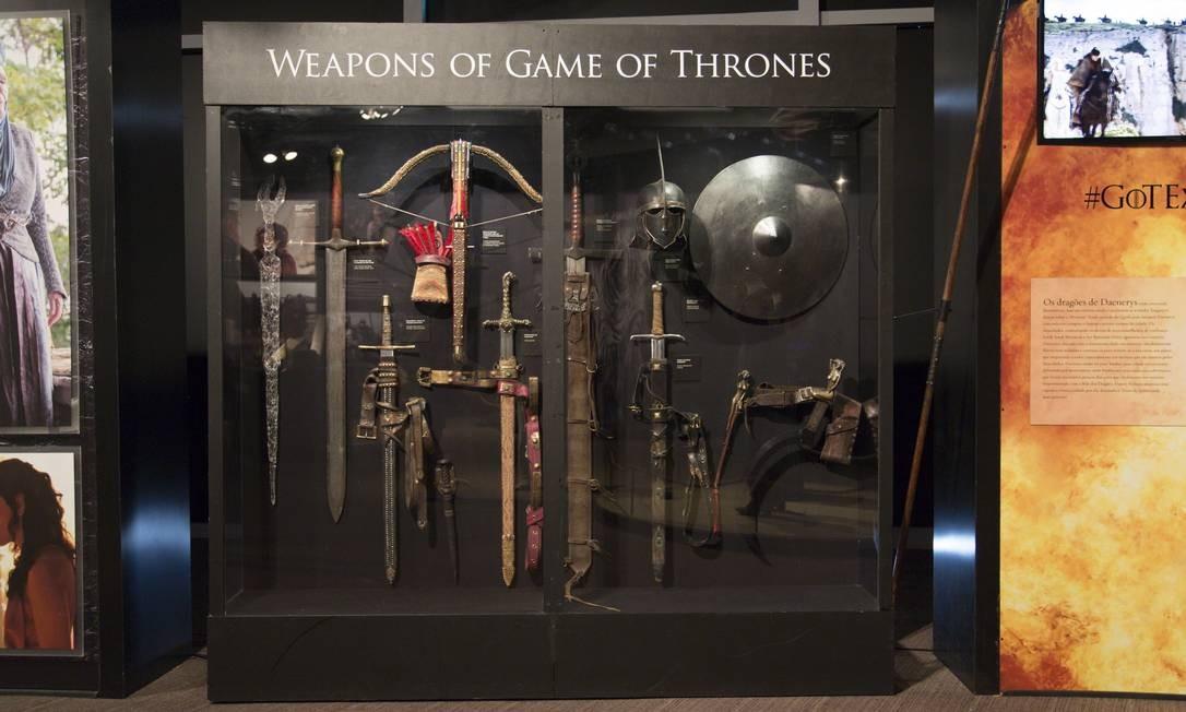 Veja fotos da exposição de Game of thrones no Rio