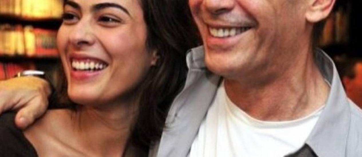 Isabel é filha do casamento de José Wilker com a também atriz Mônica Torres Foto: Reprodução/Instagram