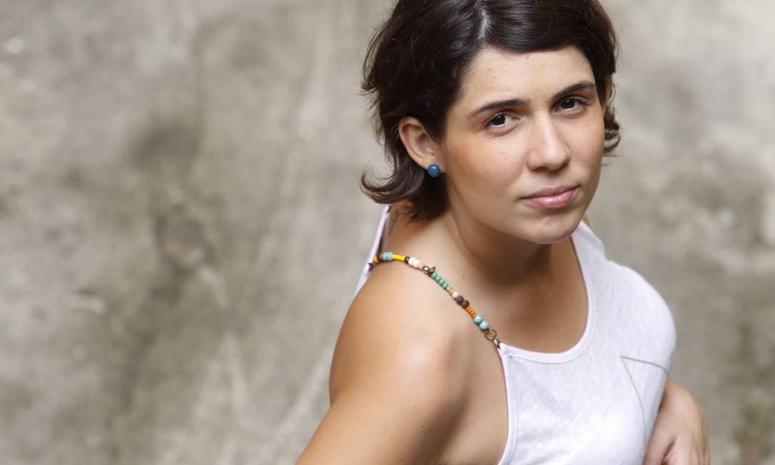 Parto em casa. Fernanda Telles não vai dar à luz num hospital, mas tomou cuidados para garantir a saúde de Yasmim Foto: Daniela Dacorso