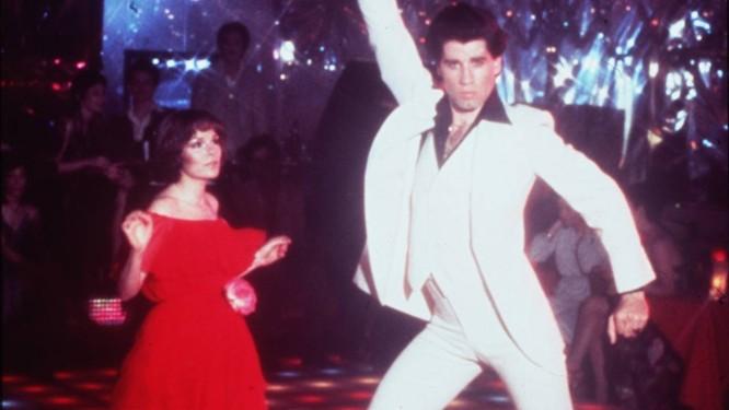 John Travolta como Tony Manero no filme
