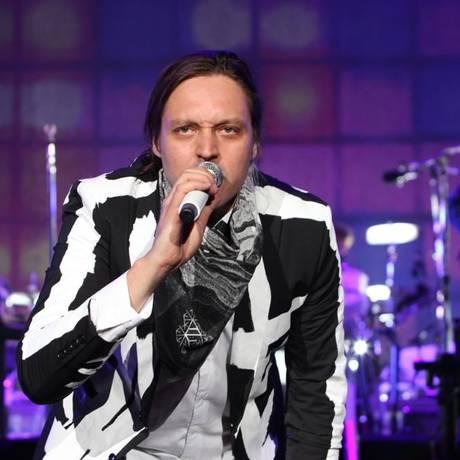 O vocalista e guitarrista do Arcade Fire, Win Butler Foto: Divulgação