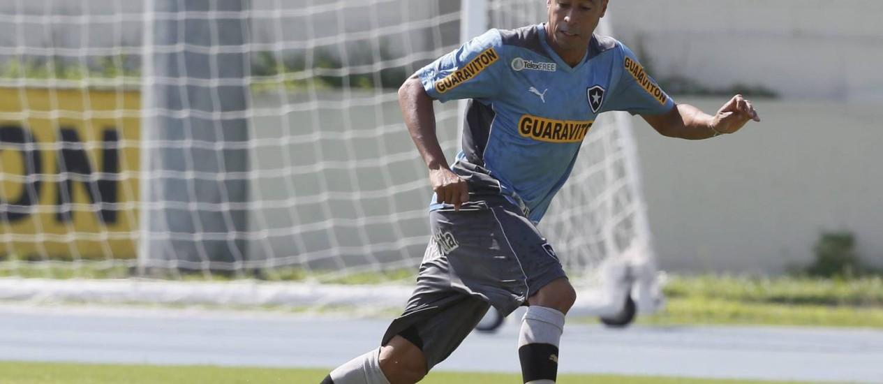 Jorge Wagner segue no time do Botafogo Foto: Marcos Tristão / Agência O Globo