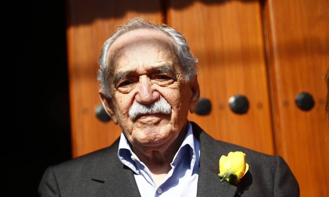 O escritor Gabriel García Márquez em foto tirada no dia de seu aniversário de 87 anos, em 6 de março Foto: EDGARD GARRIDO / REUTERS
