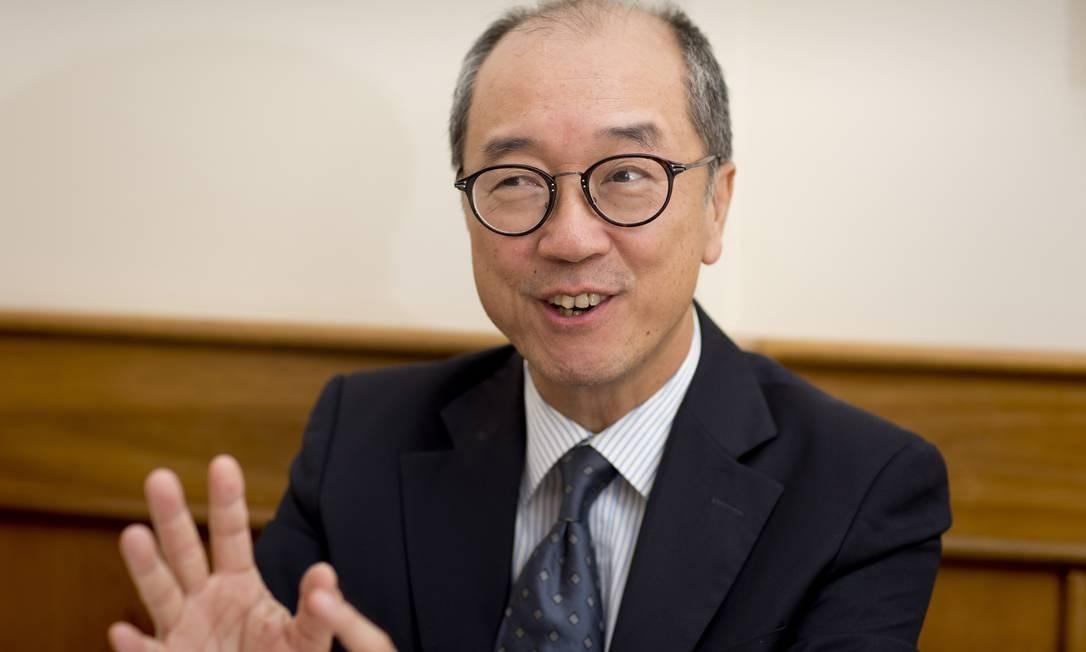 Tony Chan, presidente da Hong Kong University of Science and Technology Foto: / Simone Marinho/Agência O Globo