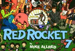 Revista Red Rocket 7, criada nos anos 90 por Mike Allred Foto: Reprodução Internet