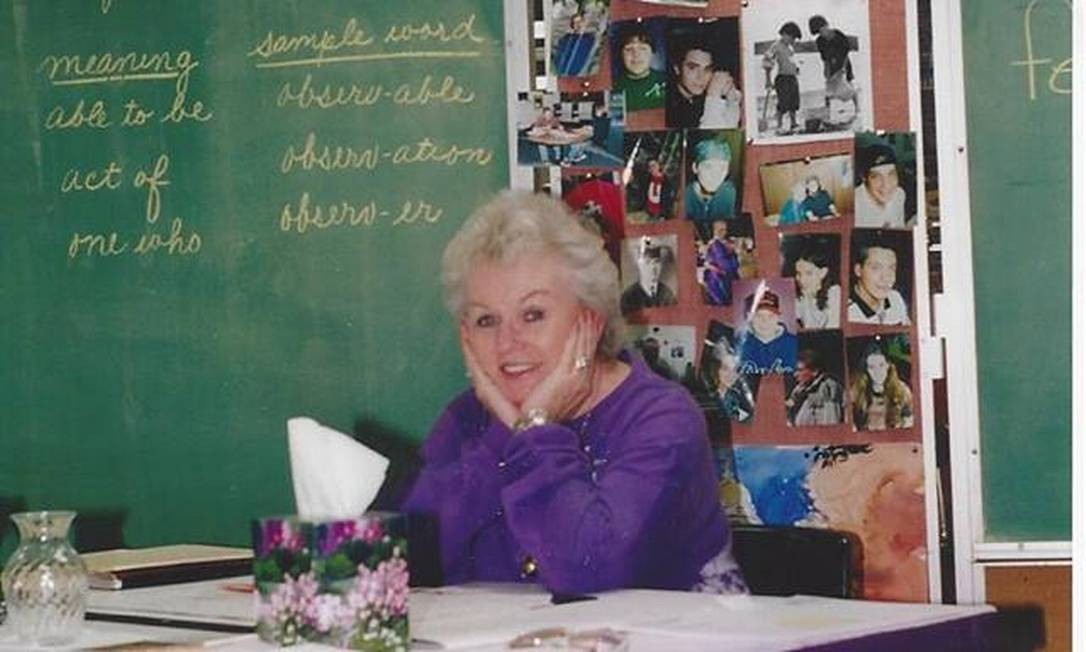 Foto pubicada do perfil de Mrs.T no Facebook