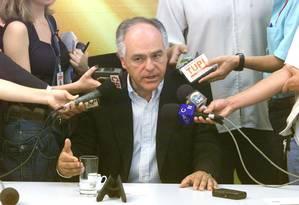 Pimenta da Veiga, pré-candidato do PSDB ao governo de Minas Gerais Foto: Ailton de Freitas / O Globo