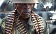Soldado congolês na cidade de Bria: segundo a ONU, um terço dos casos de violência sexual parte do Exército do país