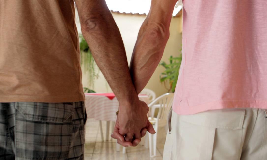Casal se uniu em 2012 nos Estados Unidos e processou a cidade de Grosseto depois que um oficial se recusou a transcrever o casamento nos registros da prefeitura Foto: / Luiz Ackermann/Agência O Globo
