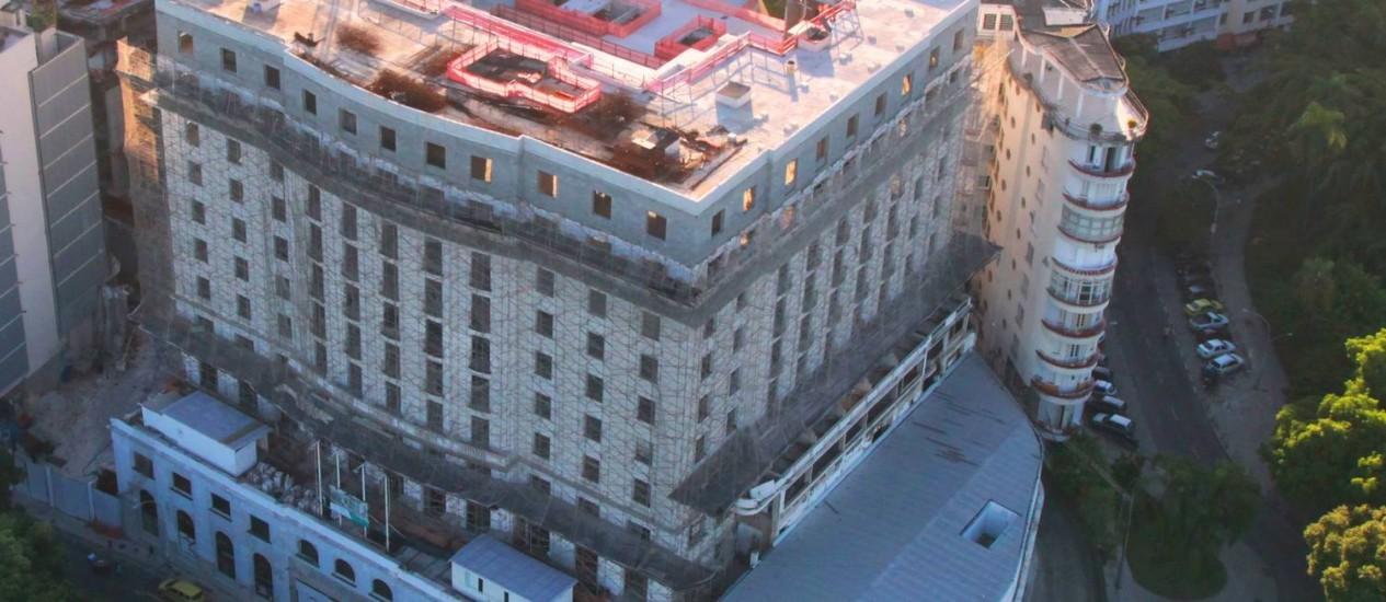 Hotel Glória, fundado em 1929, marca a estreia do grupo canadense no Rio Foto: Genilson Araujo/08-01-2014