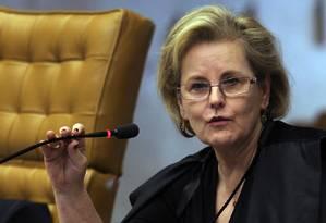 Rosa Weber vai decidir futuro da CPI Foto: Gustavo Miranda / Agência O Globo - Arquivo: 26/4/2012
