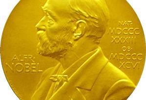 A medalha do Prêmio Nobel: bistrô do museu vende versão de chocolate Foto: Reprodução