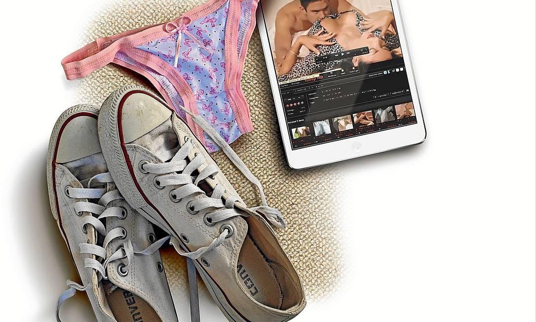 Meios digitais facilitam acesso de jovens a pornografia Foto: André Mello