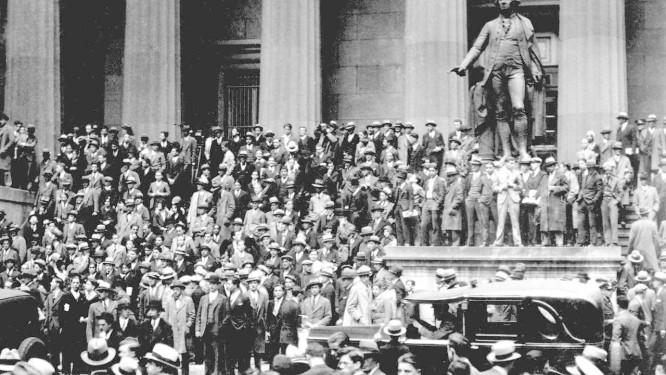 Nova York, 24 de outubro de 1929 Foto: AP/29-10-1929