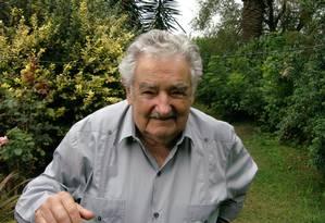 O presidente do Uruguai, José Mujica Foto: Sergio Flaksman 06/03/2014 / Agência O Globo