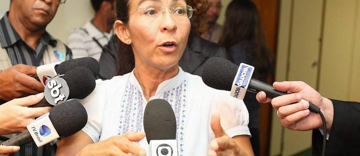 A vereadora de Maceió Heloísa Helena (PSOL) Foto: Arquivo O Globo