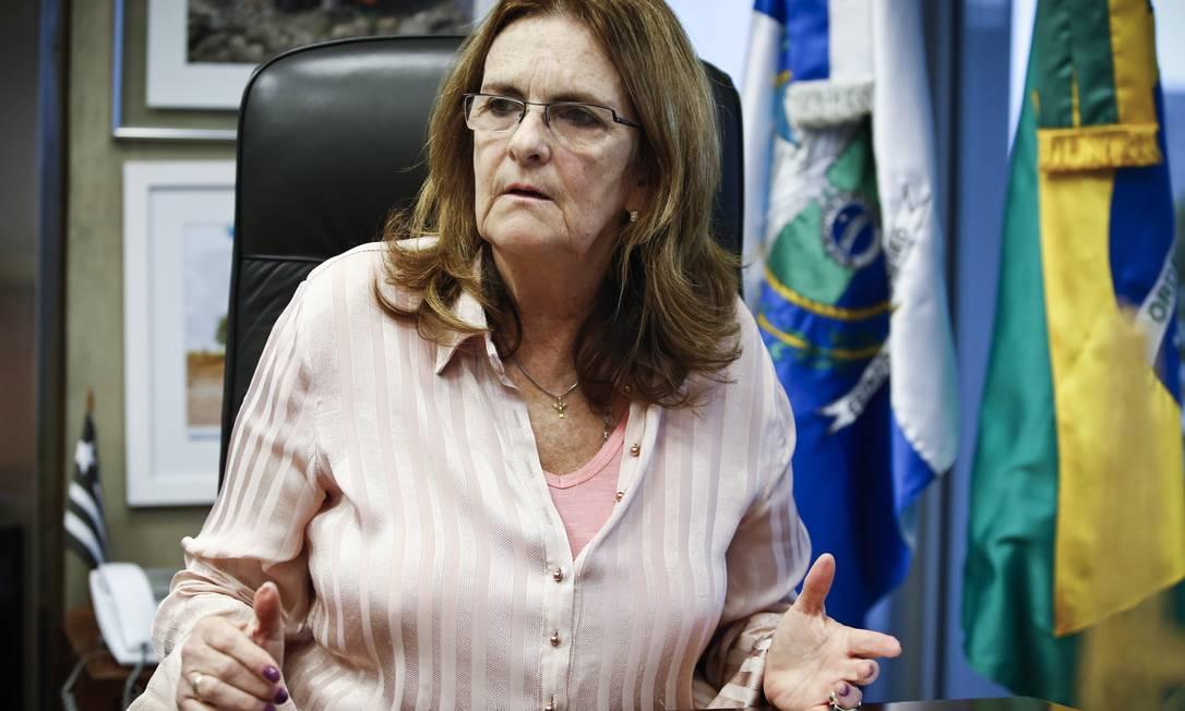 Graça Foster vai depor no Senado amanhã Foto: Guito Moreto / Guito Moreto / Agência O Globo