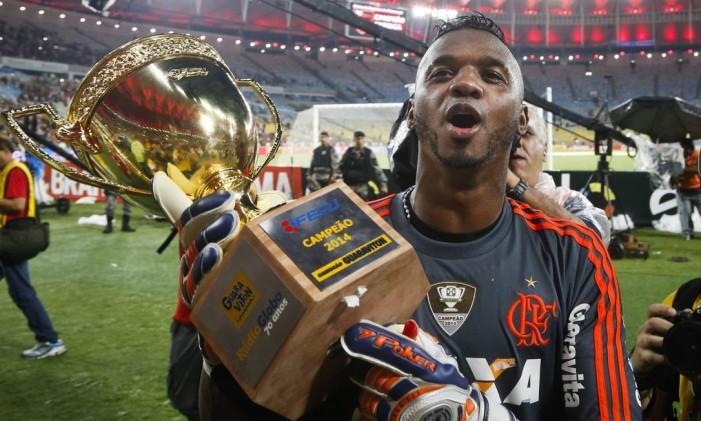 Felipe reconheceu que errou ao dizer que ganhar o título 'roubado é mais gostoso' Foto: Guito Moreto / O Globo