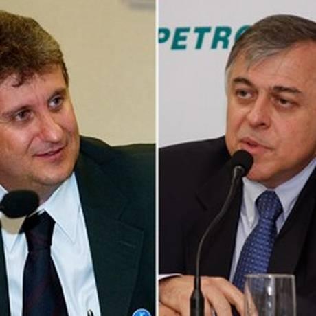 O doleiro Alberto Youssef e o ex-diretor da Petrobras Paulo Roberto da Costa Foto: Arte/O Globo