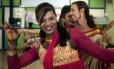 Transexual dança em evento que celebrou decisão da Suprema Corte da Índia