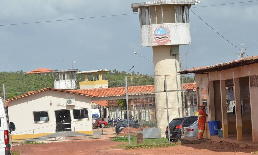 O presídio São Luís 2, no Complexo de Pedrinhas, onde houve a fuga desta quinta-feira Foto: Gilson Ferreira/Jornal Pequeno /