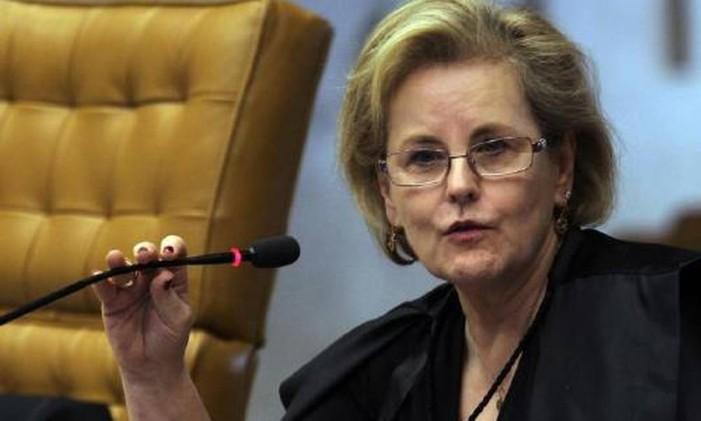 Ministra do Supremo Tribunal Federal (STF) Rosa Weber Foto: Gustavo Miranda / O Globo