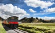 O Tren de la Dulzura, que passa por fazendas produtoras de cacau no Equador