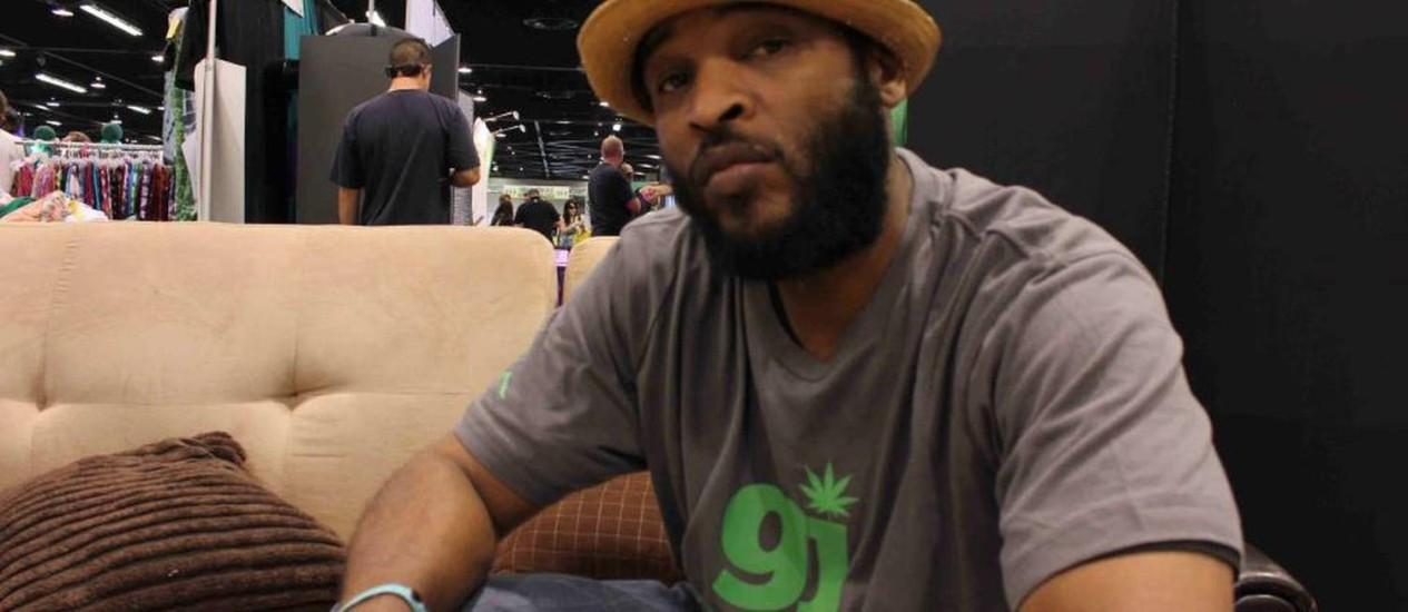 O rapper Andre Johnson Foto: Divulgação
