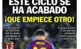 Capa do jornal catalão Sport
