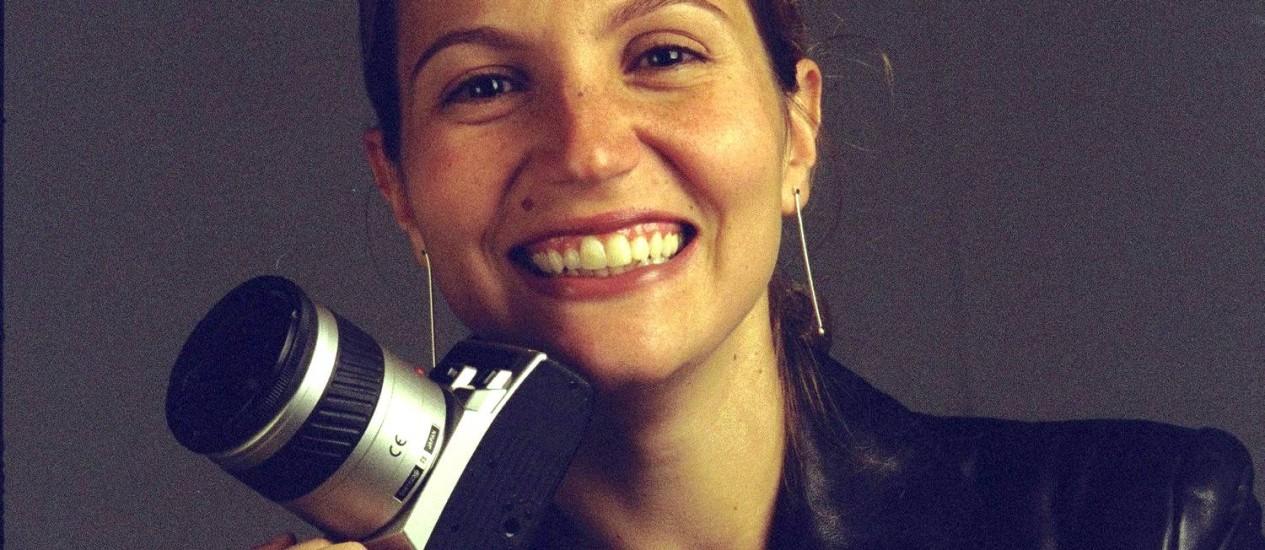 Bruna Bianchi, em foto de 02/08/2002 Foto: Camilla Maia / O Globo