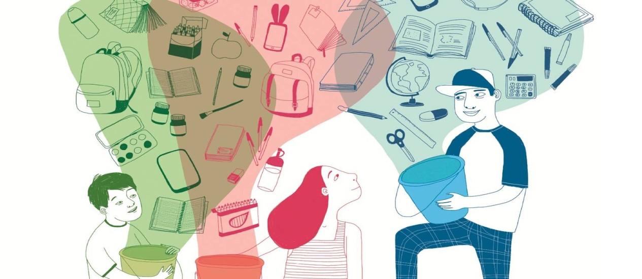 """""""De onde vêm as coisas?"""": desafio deste semestre é voltado para a conscientização do uso e descarte de materiais Foto: Divulgação/Instituto Akatu/Edukatu"""