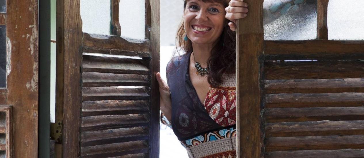 """Francesa. Valerie Lu interpretará as canções do CD """"Saudade mon amour'' Foto: Agência O Globo / Bárbara Lopes"""