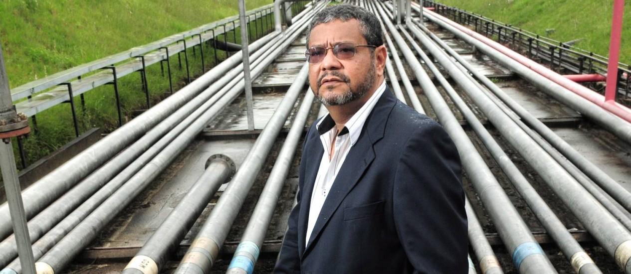 Andrade Neto, presidente da BR Distribuidora, foi indicado por Lobão Foto: Valor/15-12-2011 / Leo Pinheiro