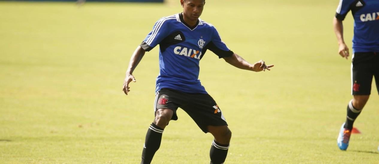 Márcio Araújo já marcou duas vezes pelo Flamengo Foto: Flamengo / Divulgação