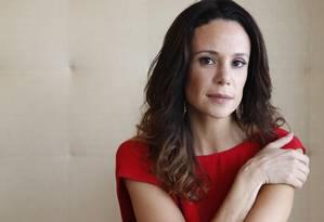 A atriz Vanessa Gerbelli Foto: Camilla Maia / Agência O Globo