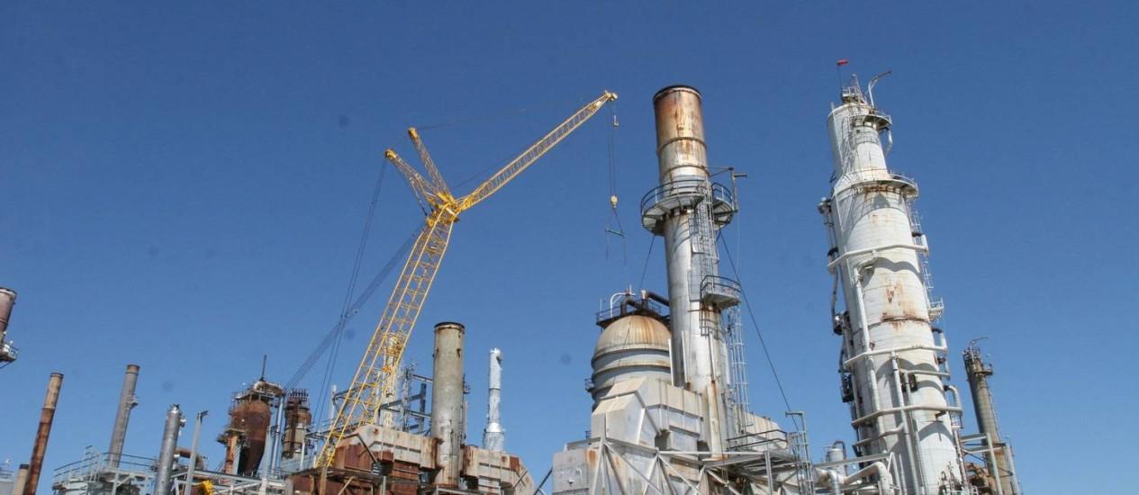 Refinaria Pasadena, da Petrobras, nos EUA Foto: Agência Petrobras / Divulgação