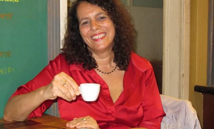 "Suzana Vargas: ""Querer dividir as alegrias que a literatura me deu ao longo da vida"" Foto: Mauro Ventura / O GLOBO"