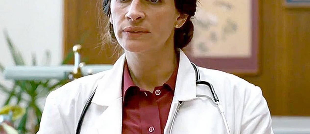 Julia Roberts no filme 'The normal heart' Foto: Reprodução