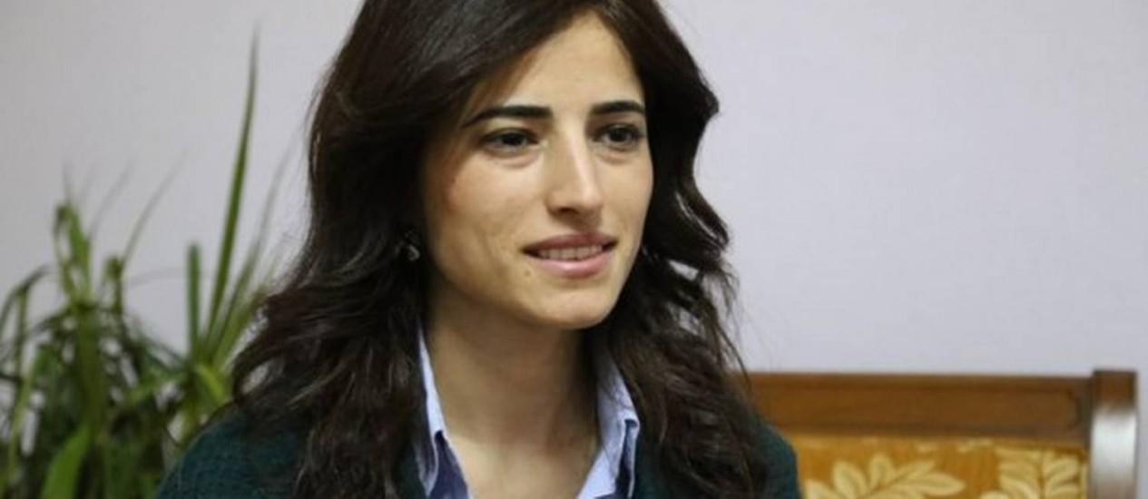 Rezan Zugurli, prefeita de Lice, na Turquia Foto: Divulgação / Paz e Democracia (BDP)